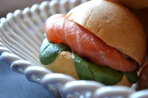 panini salmone